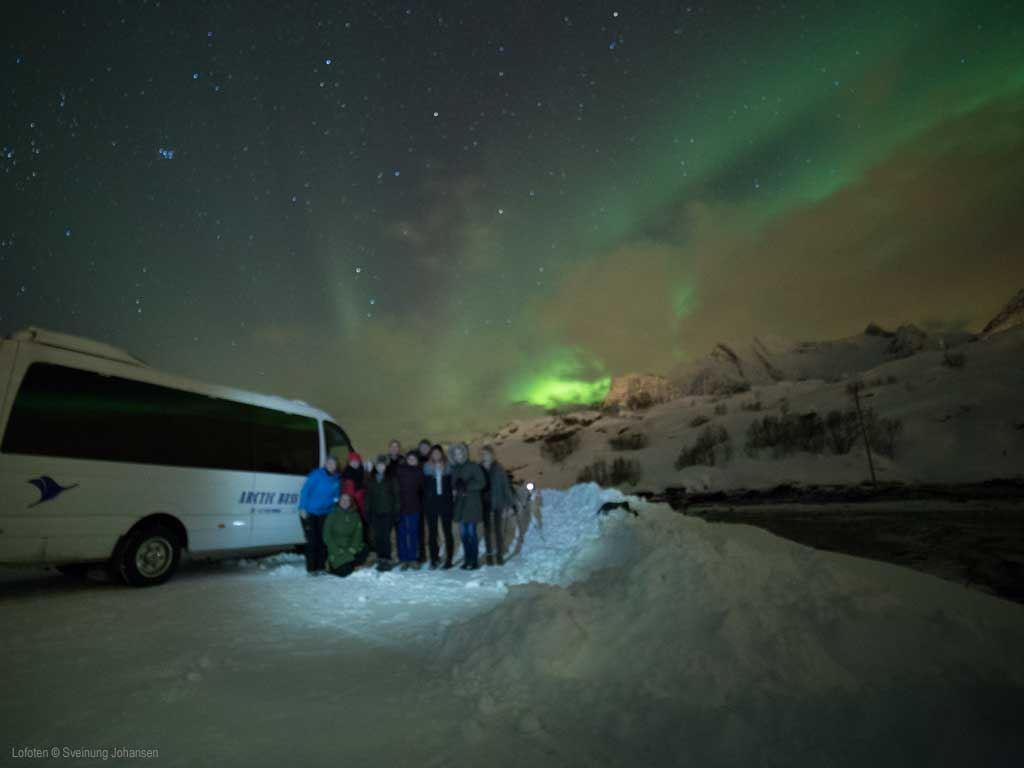 © Sveinung Johansen, Nordlys i Lofoten