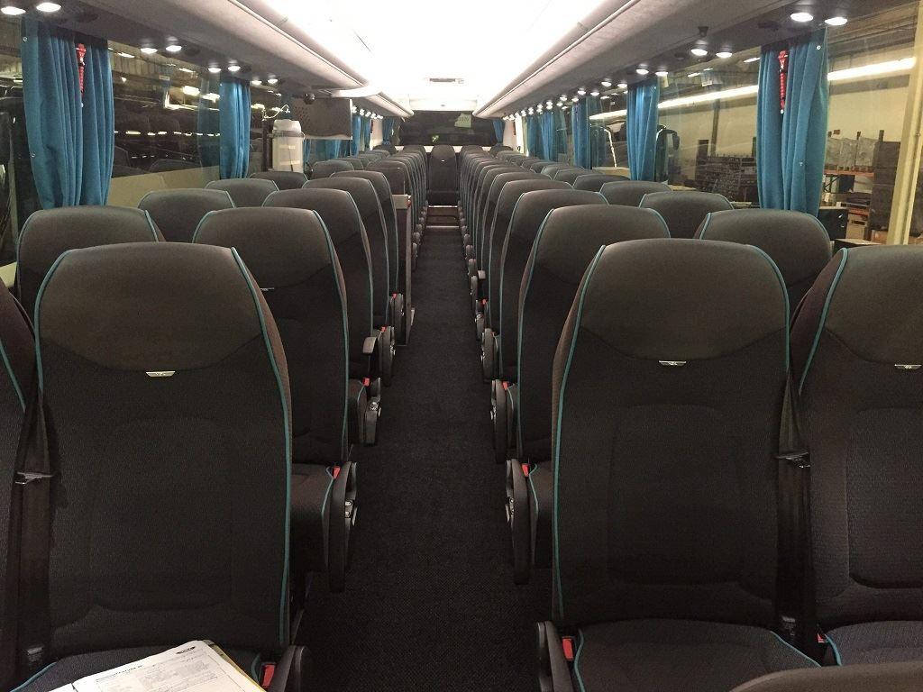 © Arctic Buss Lofoten, Inside coach VDL Futura