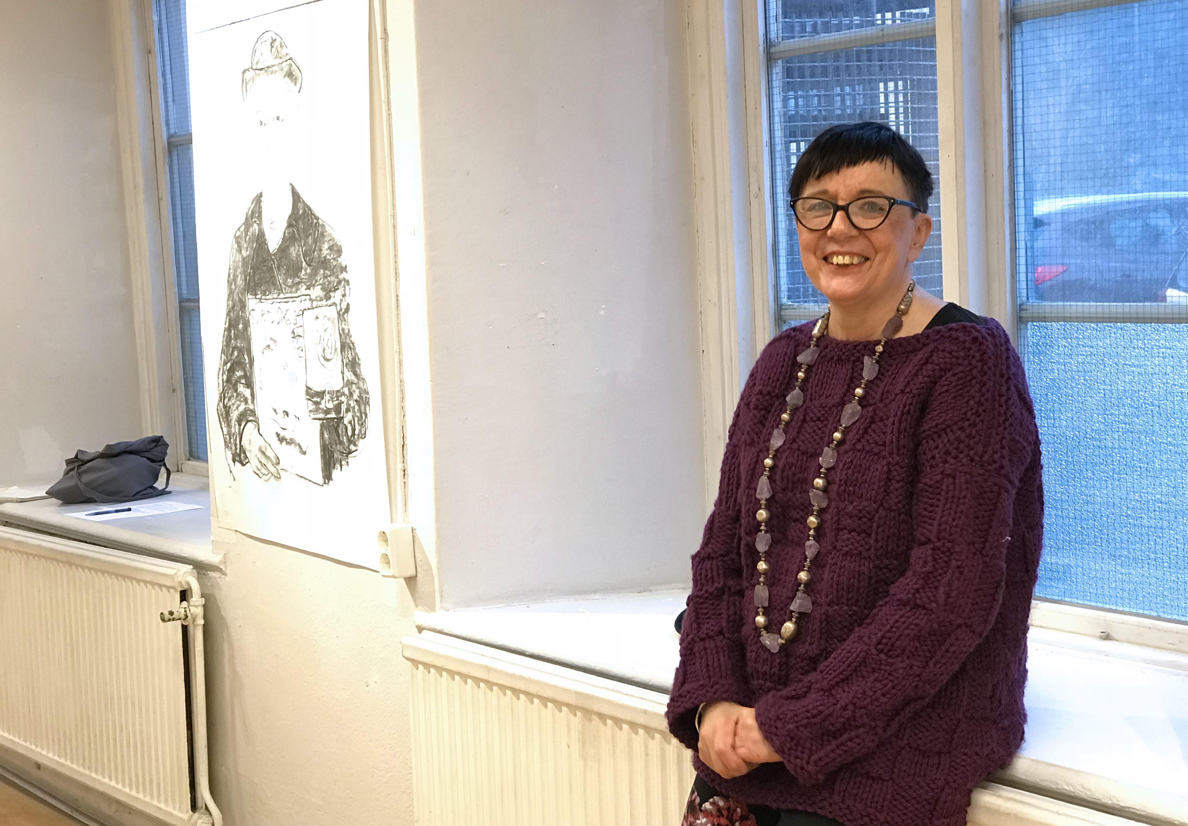 Gunilla Wihlborg - Skisser inför frälsningssoldaten