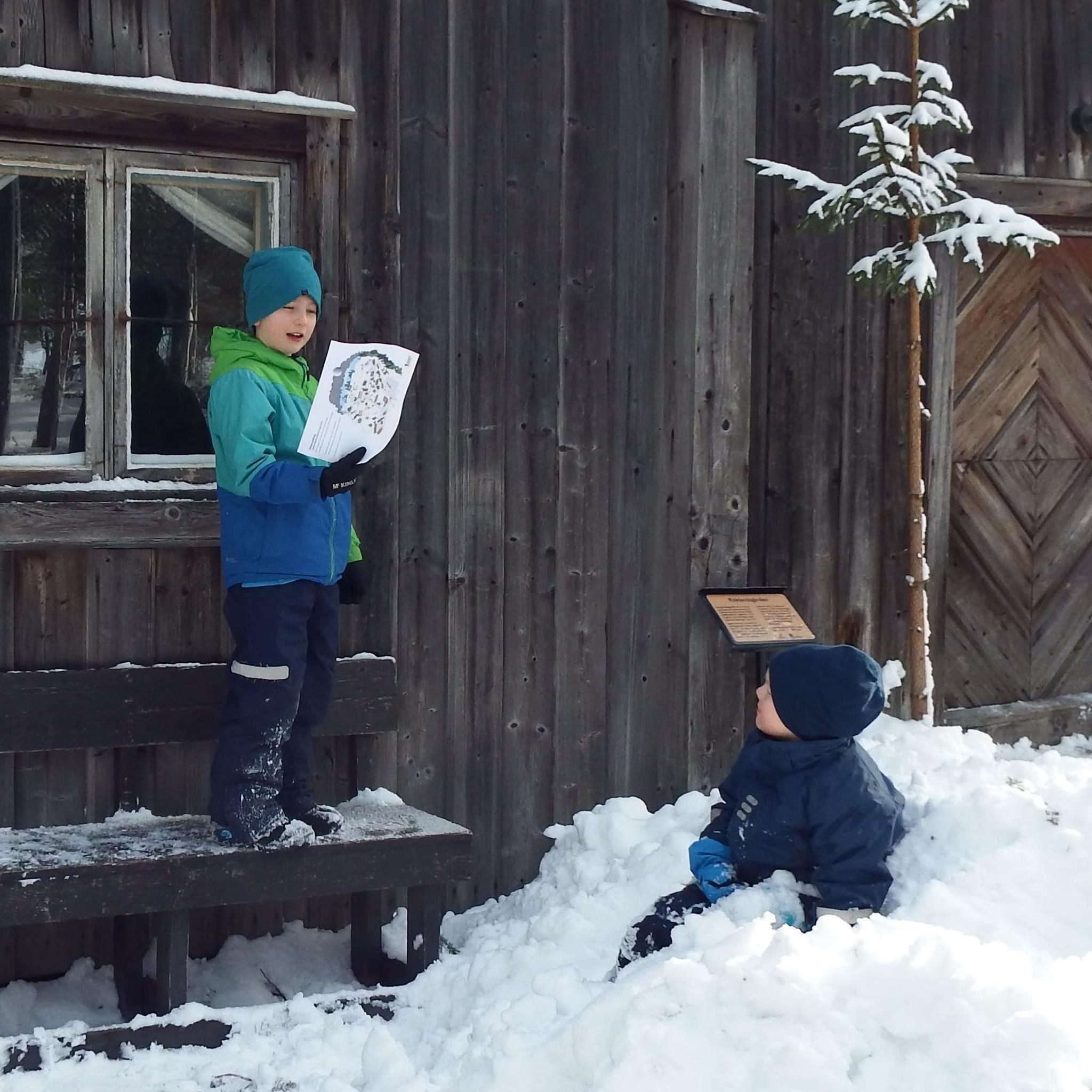 Vintervandring på Norra Berget