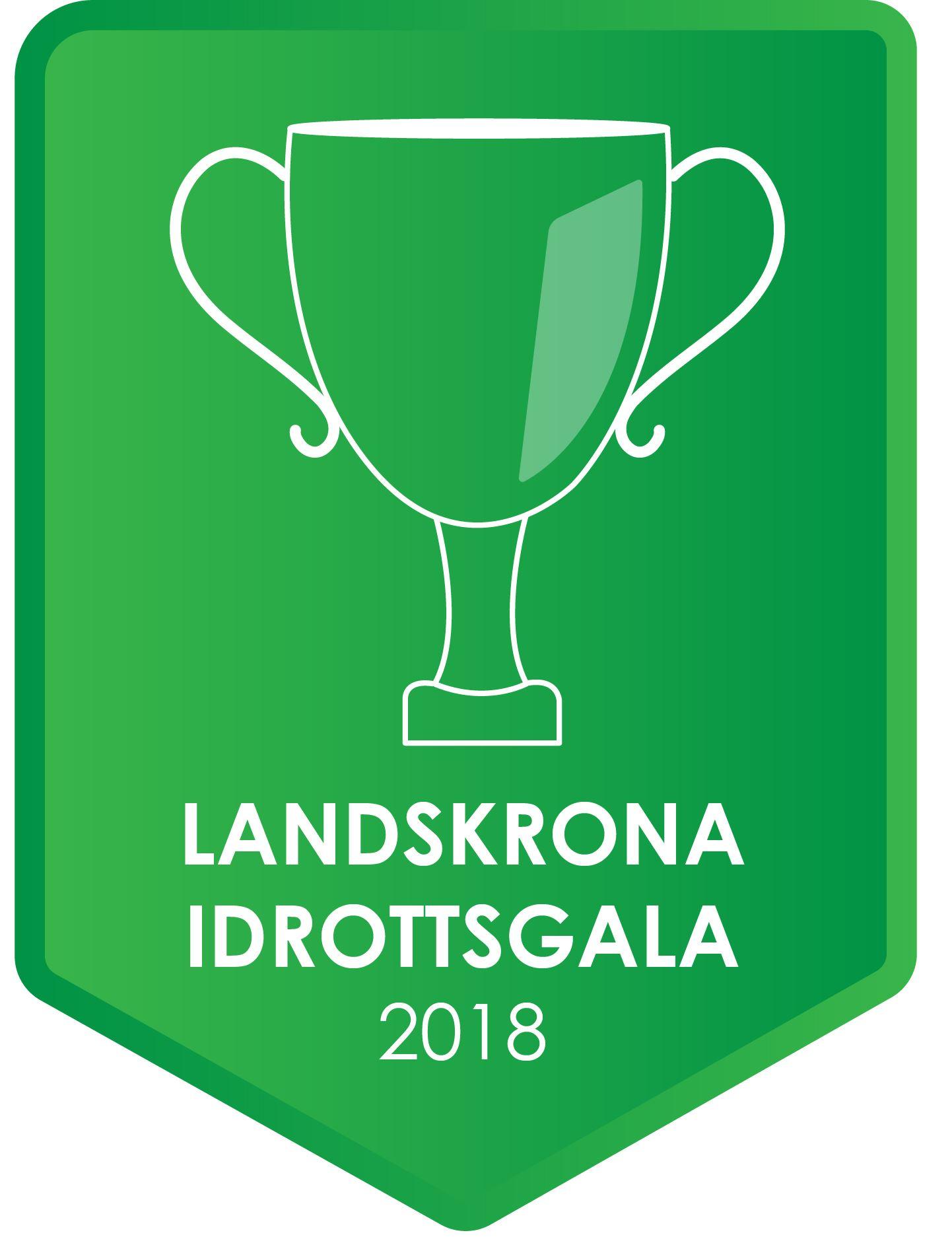 Logotyp för Landskrona idrottsgala 2018