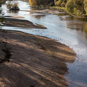 Promenade sur les bords de Loire