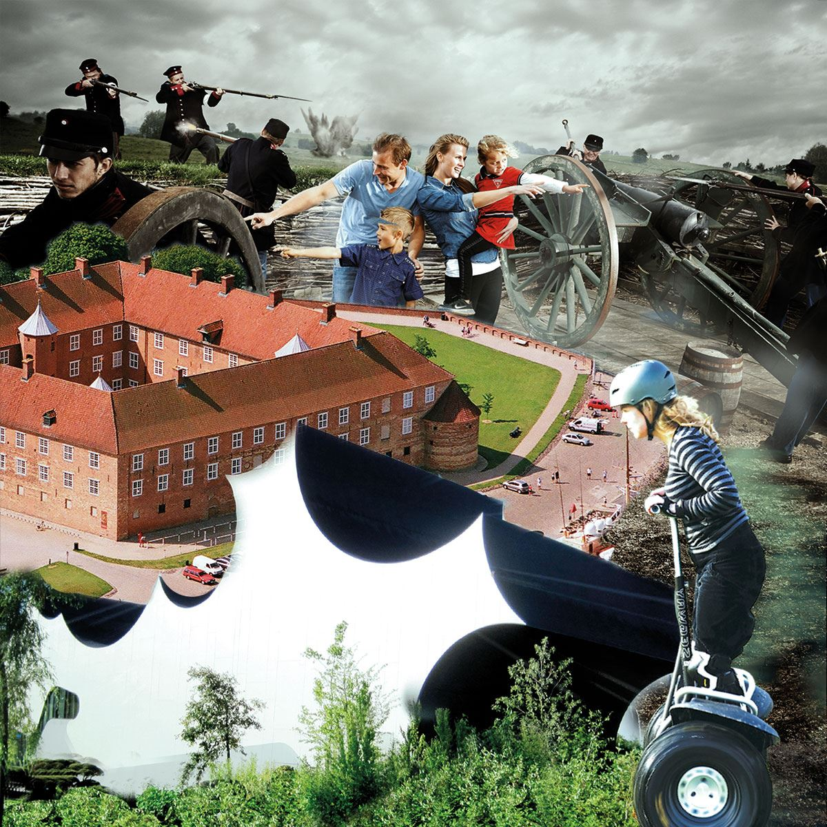 Entré til 3 sønderjyske besøgsattraktioner samlet i 1 billet
