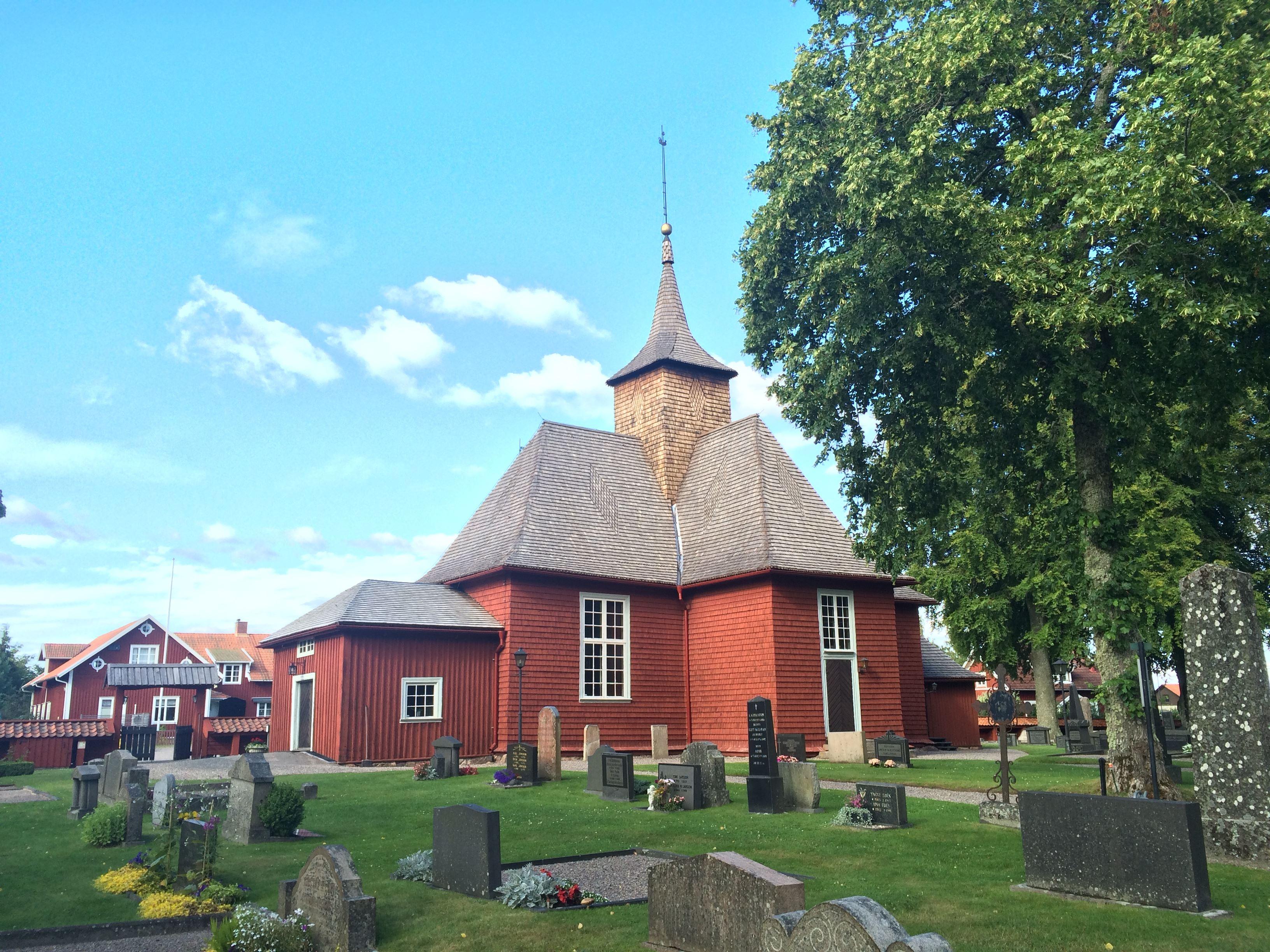 Mässa i Brandstorps kyrka