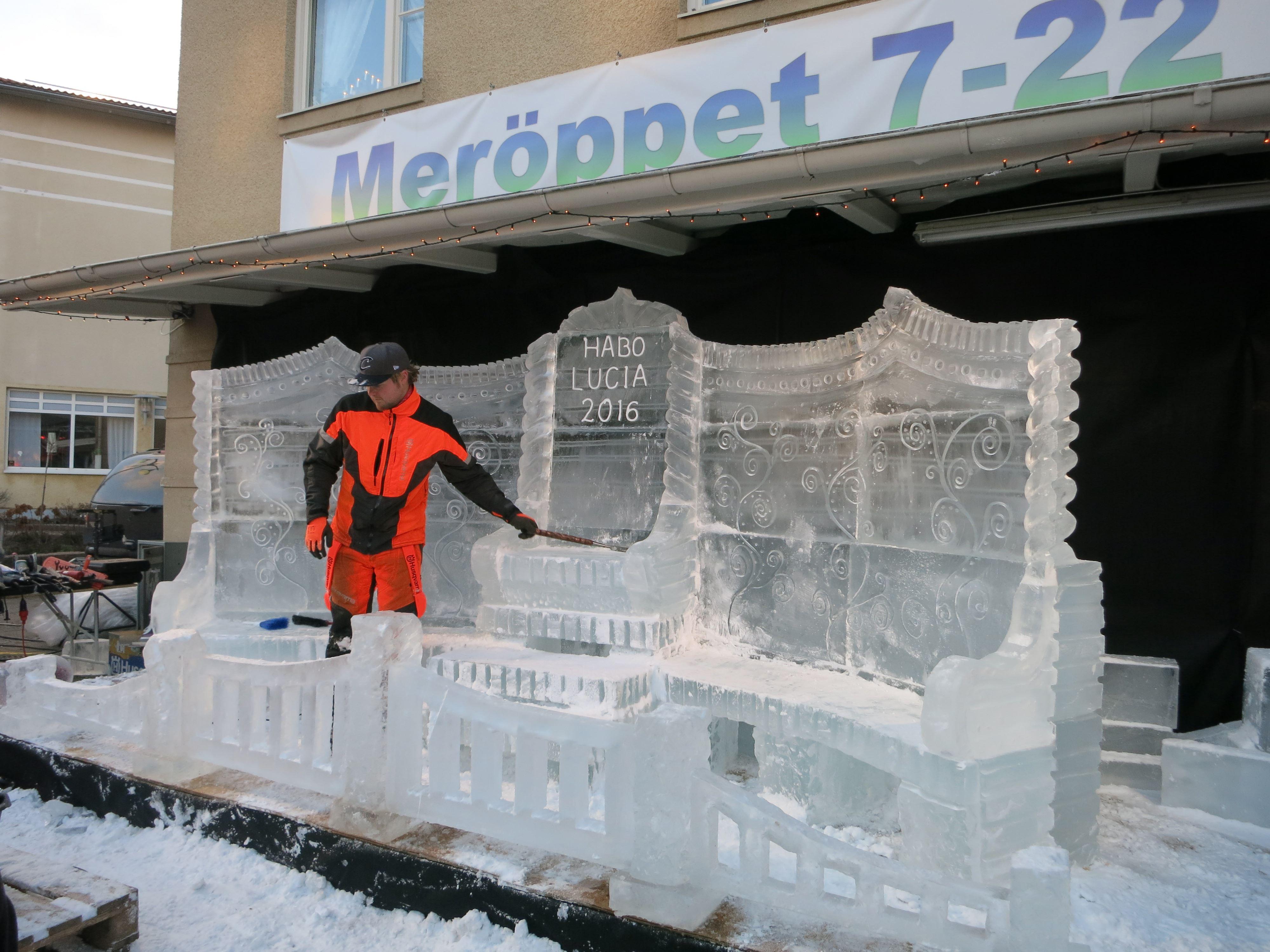 Lenn Art Ice event