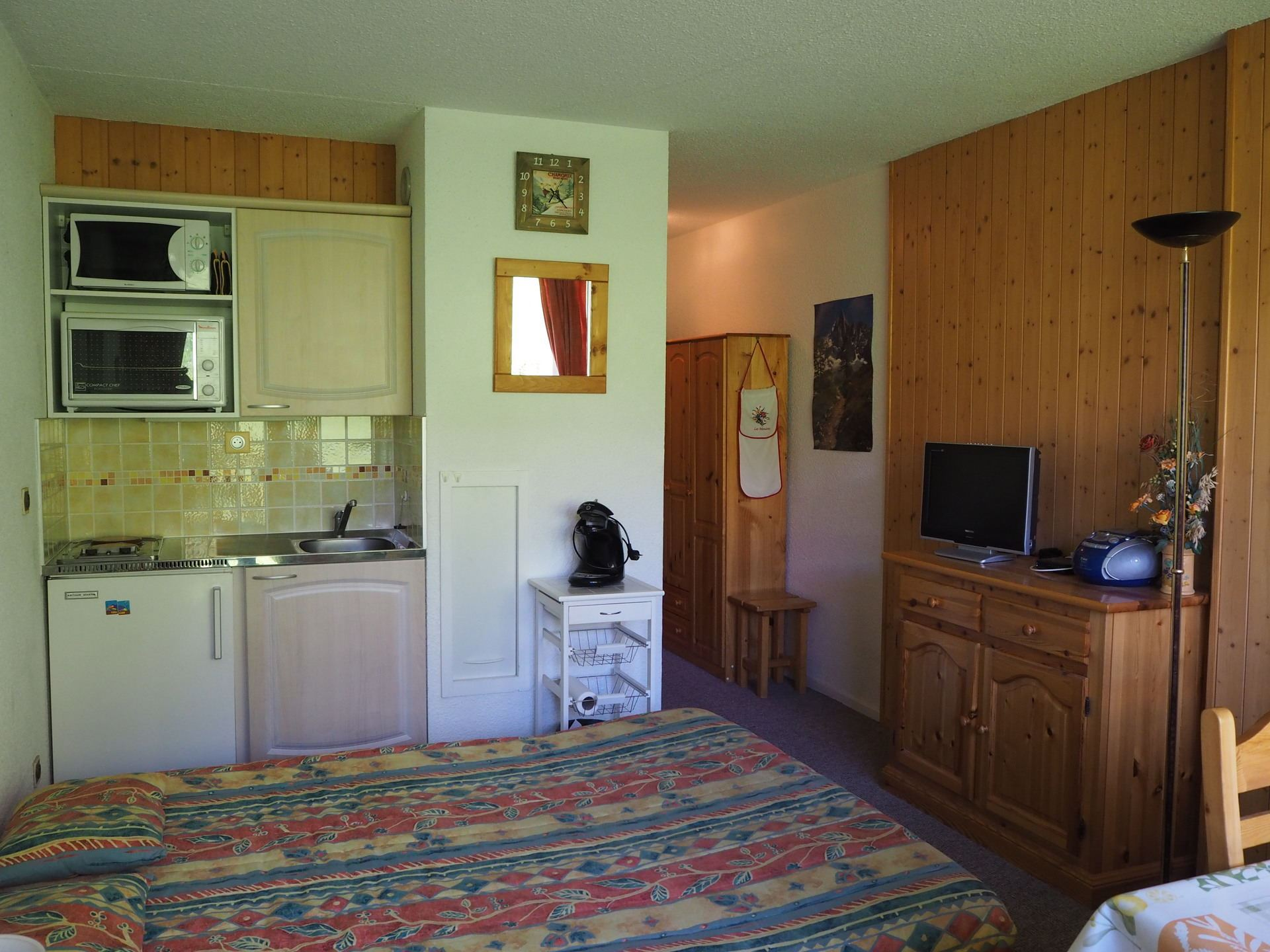 Studio 4 pers 150m from the slopes / ASTERS 1315