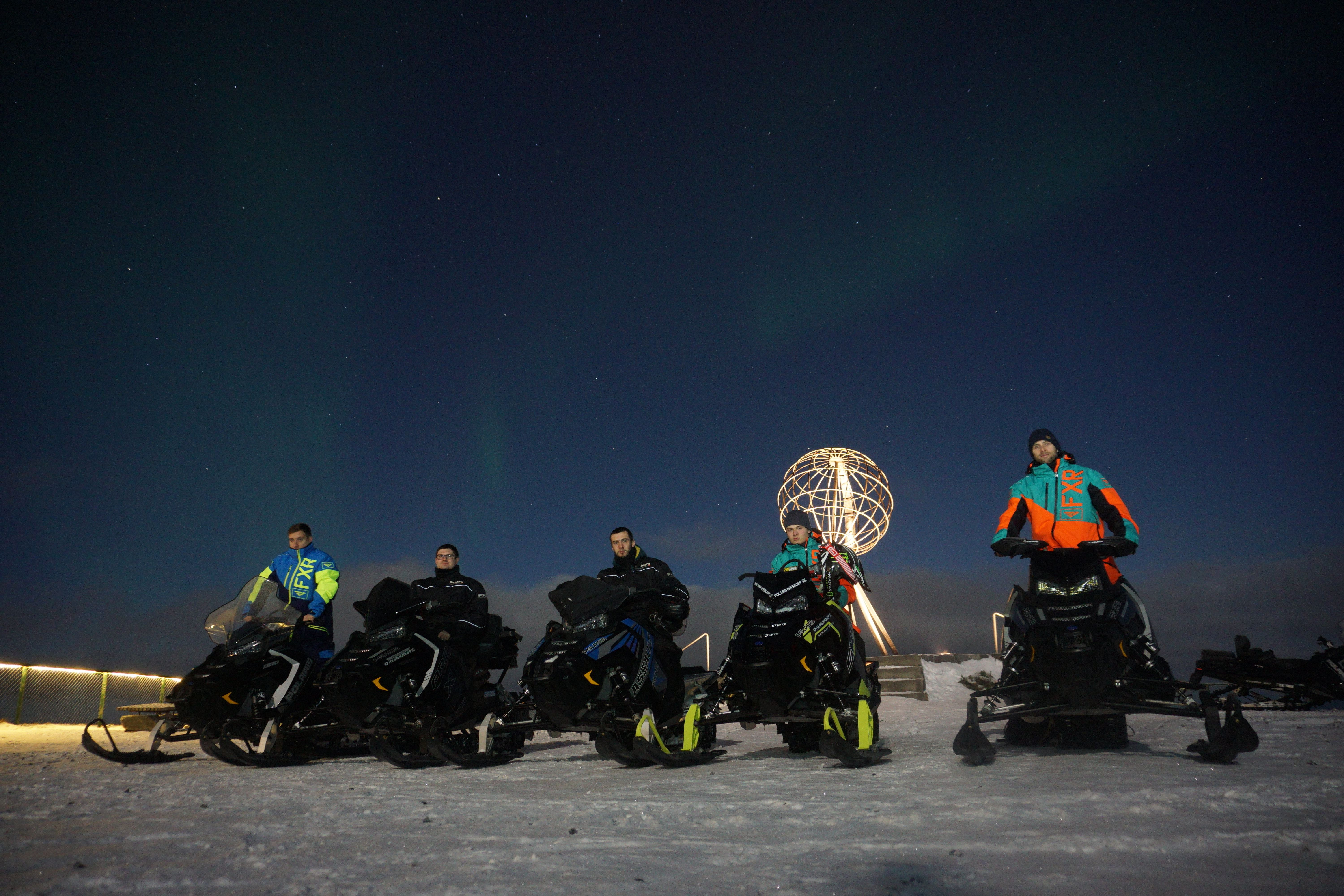 Snowmobile Safari to the North Cape