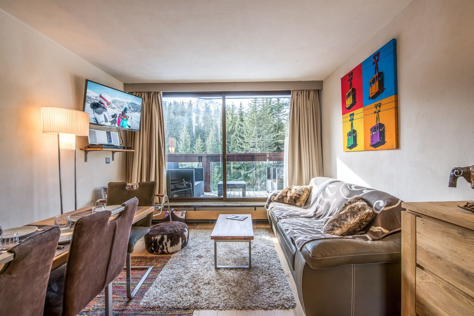 3 rooms 6 people ski-in ski-out / DOMAINE DU JARDIN ALPIN 301 A (mountain of dream)