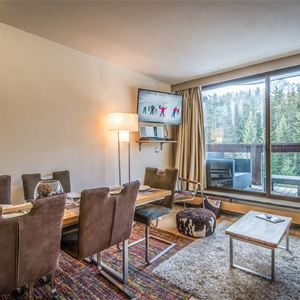 3 rooms 6 people ski-in ski-out / DOMAINE DU JARDIN ALPIN 301 A (Mountain of Dream) / Tranquillity Booking