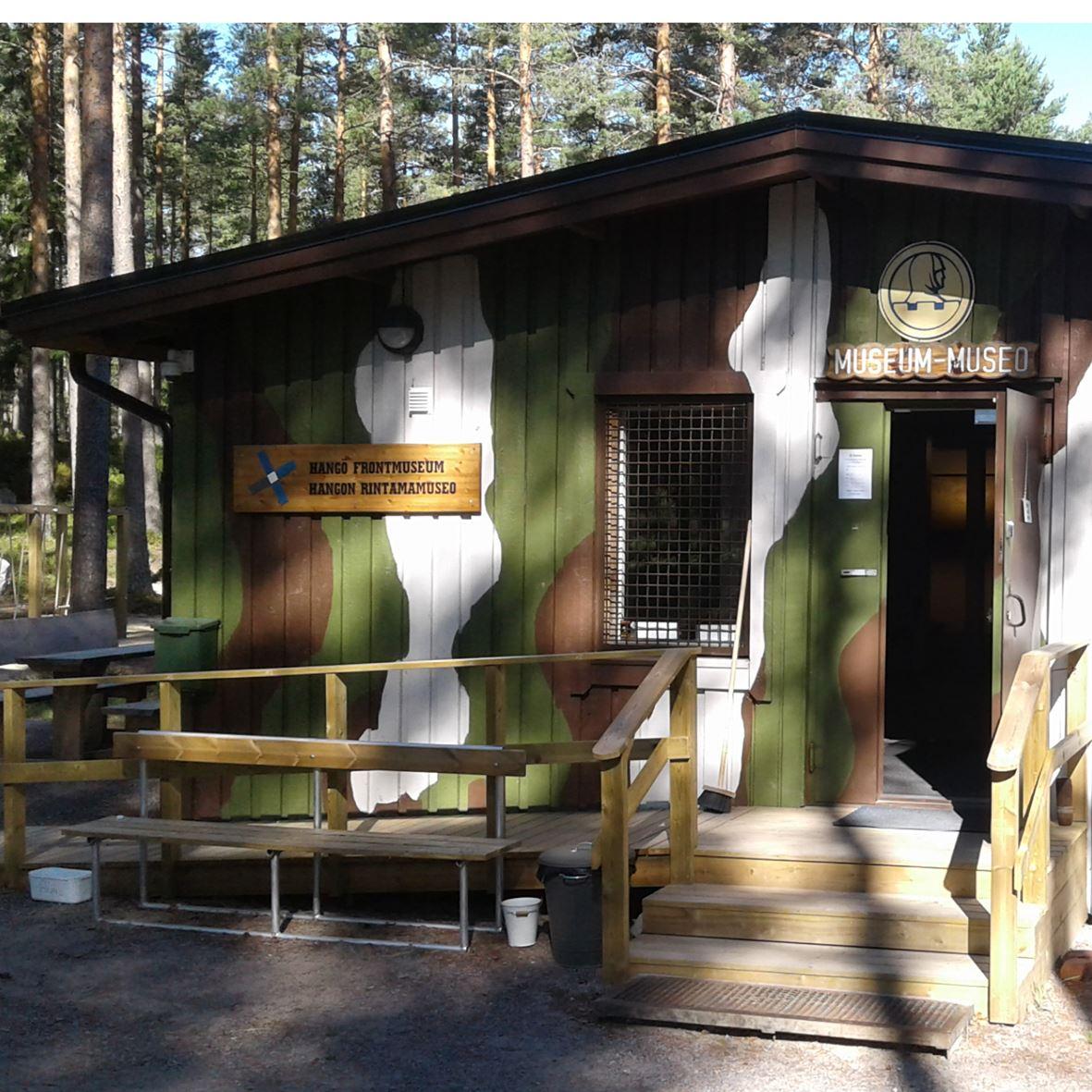 Hanko Frontmuseum and Irma bunker