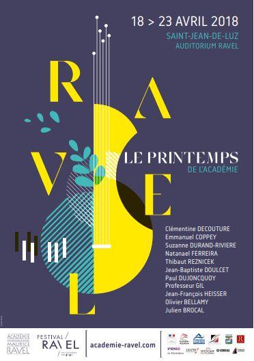 Printemps de l'Académie Ravel : Concert- lecture