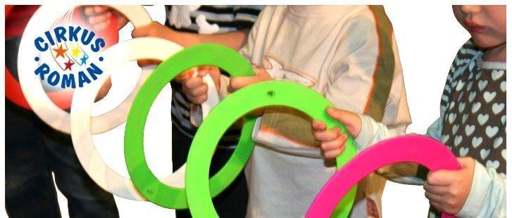 Cirkusskola med Cirkus Roman för sportlovslediga barn