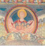 Fresken i G Hjelmseryd kyrka berättar