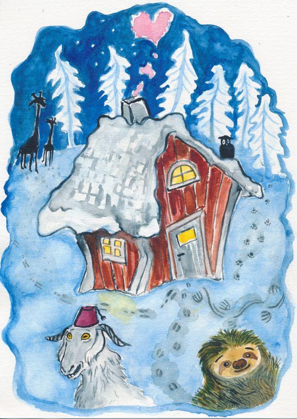 Barnteater: I ett hus vid skogens slut