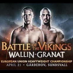 Otto Wallin vs. Adrian Granat