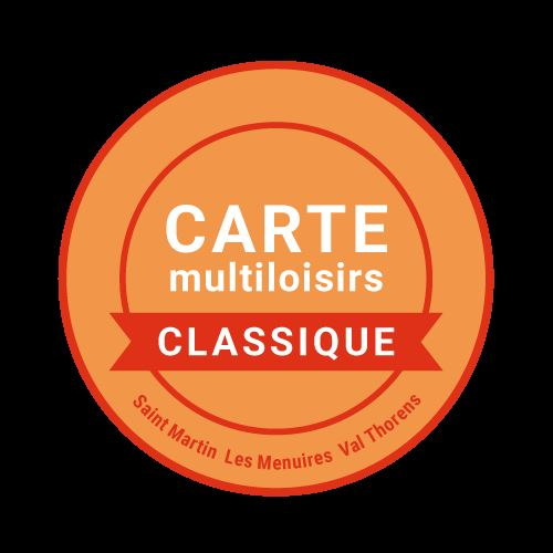 Classic Multiactivity card, more than 15 activities with unlimited access, save up money and buy it now with your accommodation!