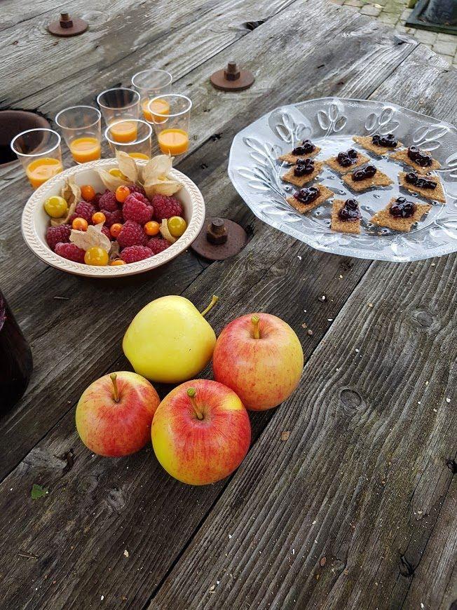 Gunnebo, Temahelg Frukt och bär på Gunnebo