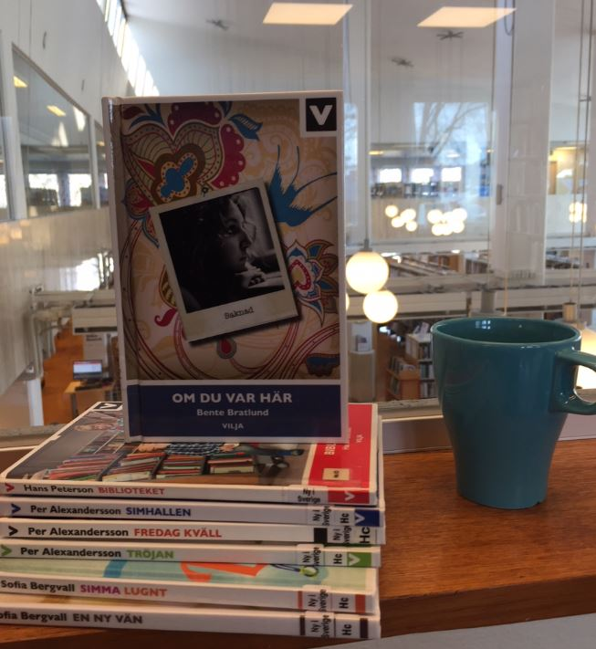 Bokcirkel på lätt svenska för unga
