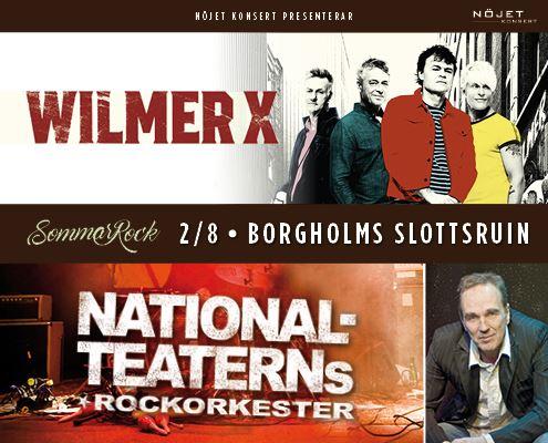 Nationalteaterns Rockorkester. Wilmer X. Lennie Norman