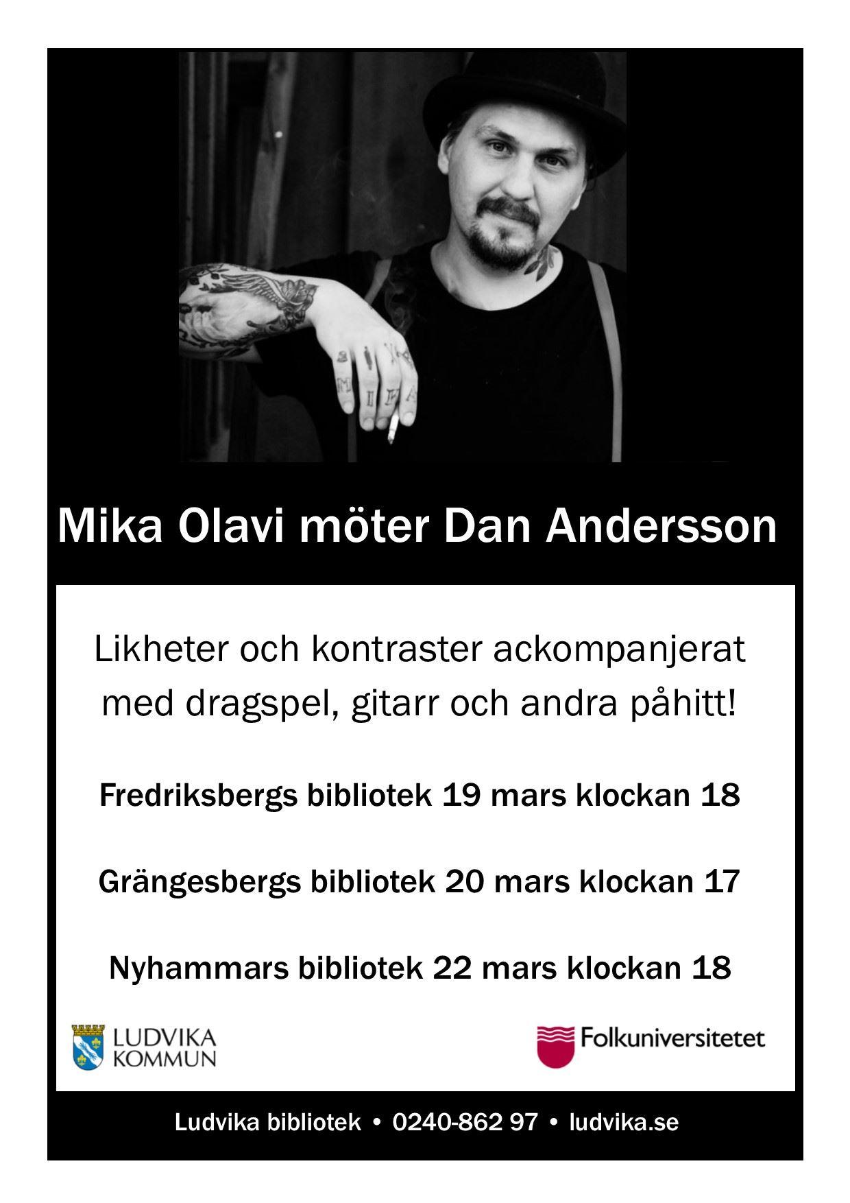 Mika Olavi möter Dan Andersson