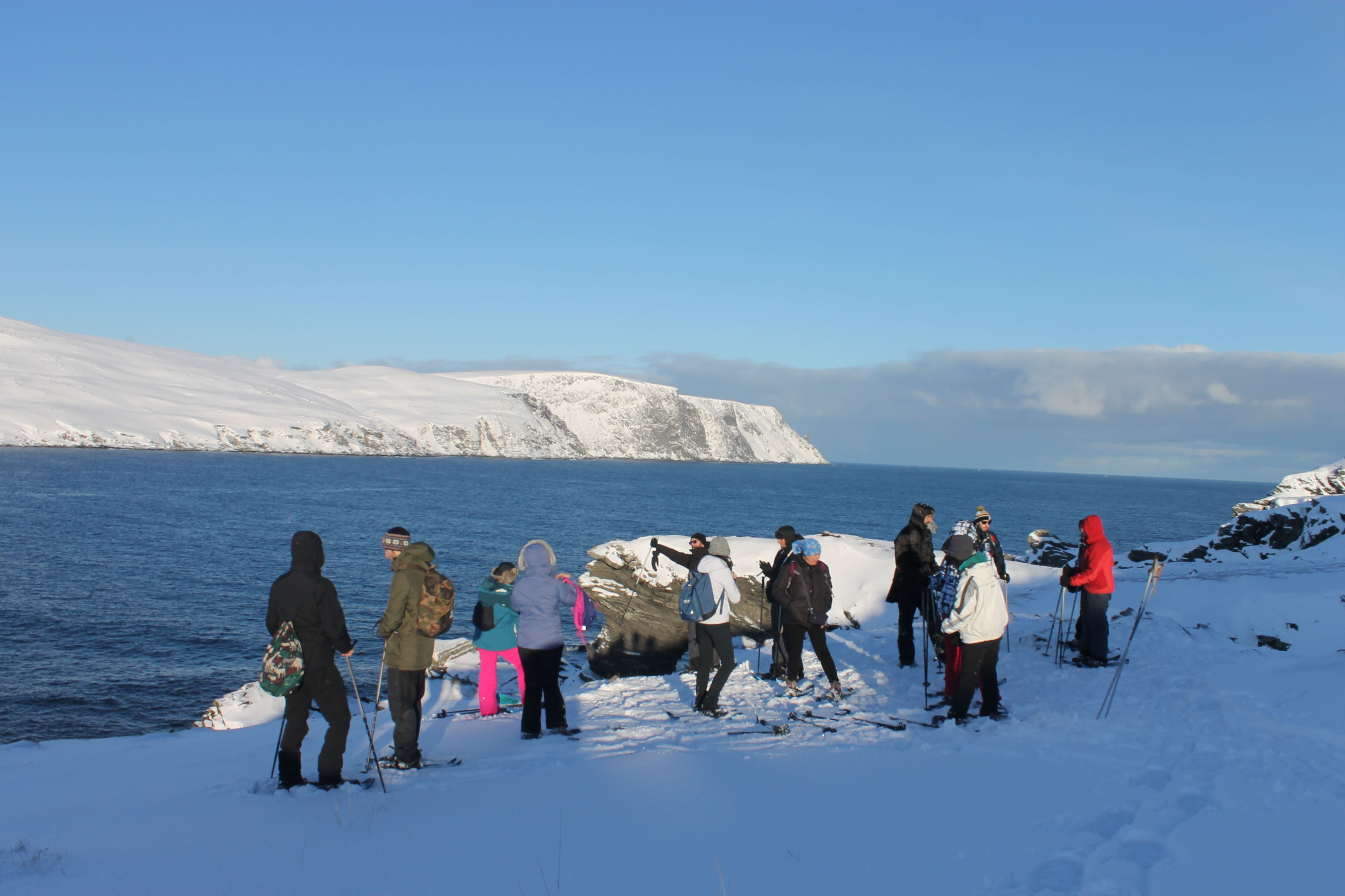 Snowshoe Safari to Kirkeporten