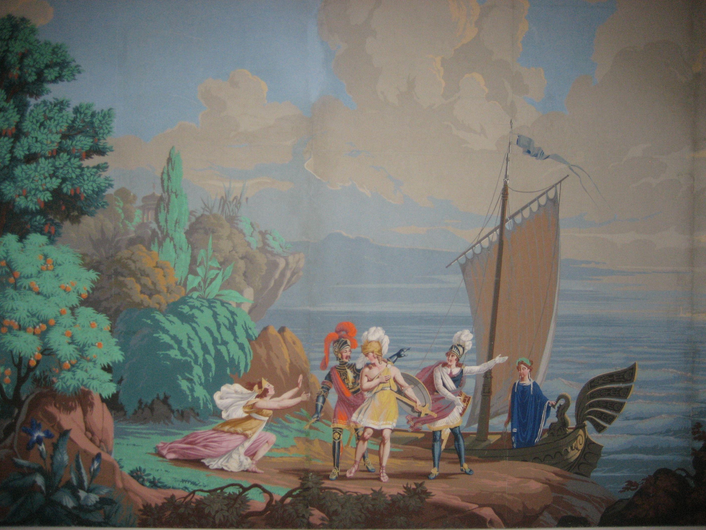 Länsmuseet Gävleborg, Franska landskap på svenska väggar
