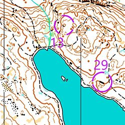 Training Map Bergsjön (FootO)