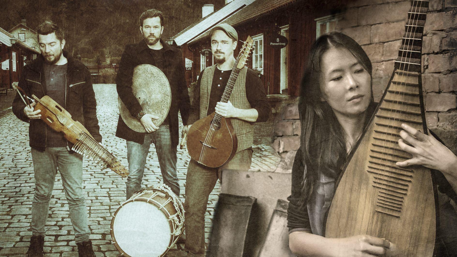 Blå scenen musik: Yufeng Chung & Sotali