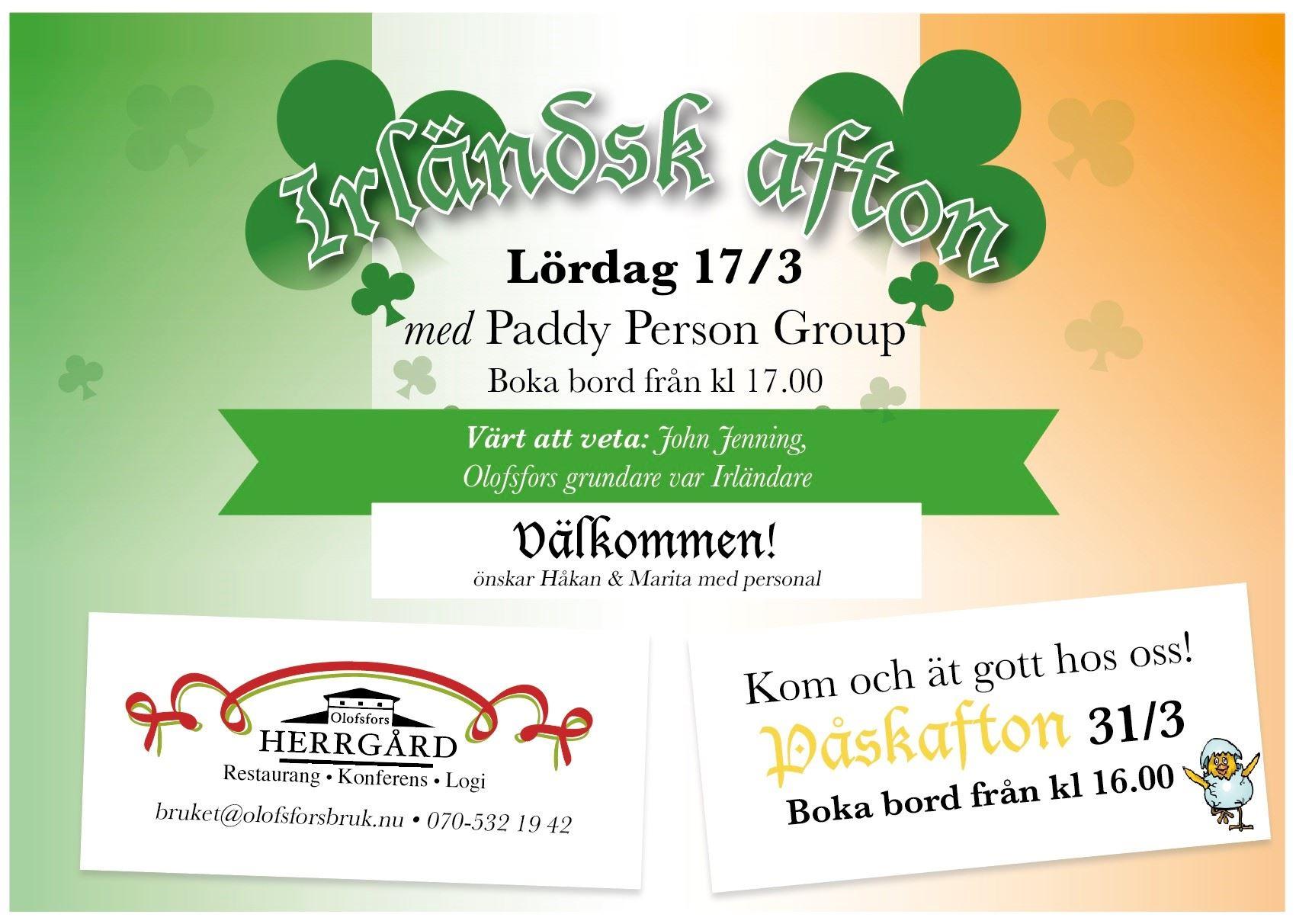 Irländsk Afton