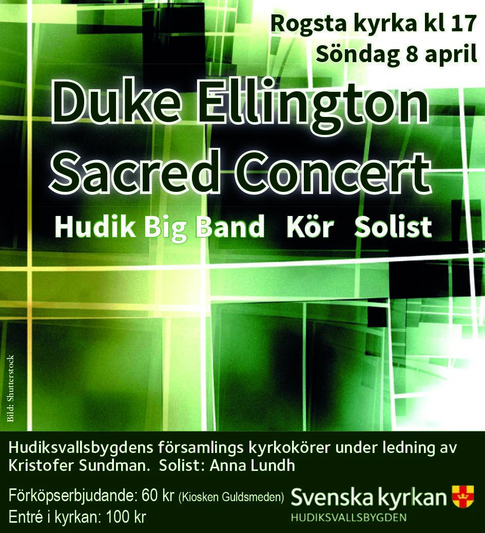 Shutterstock, Duke Ellington Sacred Concert
