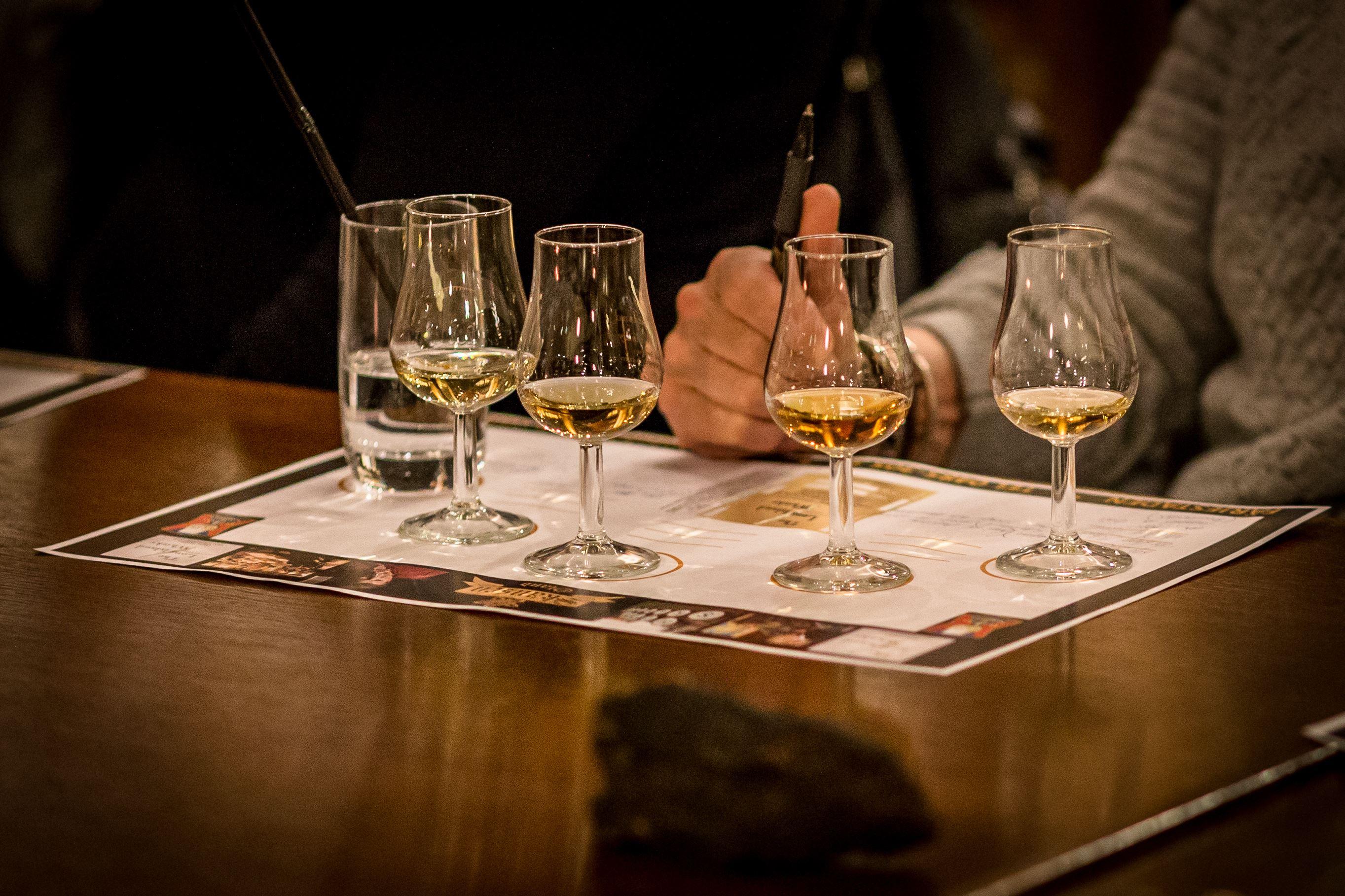 Whiskyprovning - Basprovning