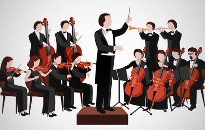 Liten klassisk orkesterkonsert