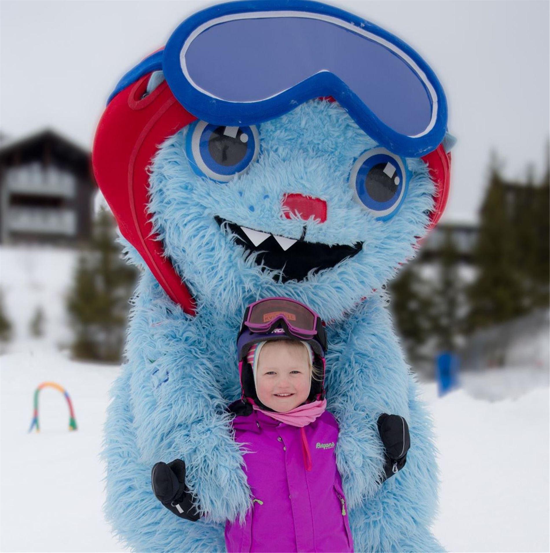 Møt Jøkul på skitorget