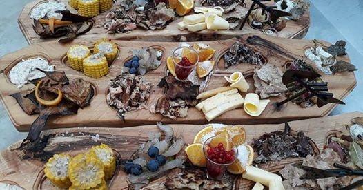 Midsummer dinner in Västerro: