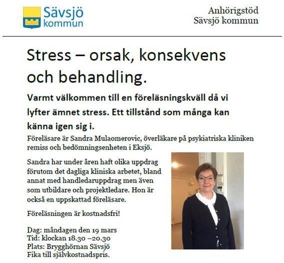 Stress – orsak, konsekvens och behandling.