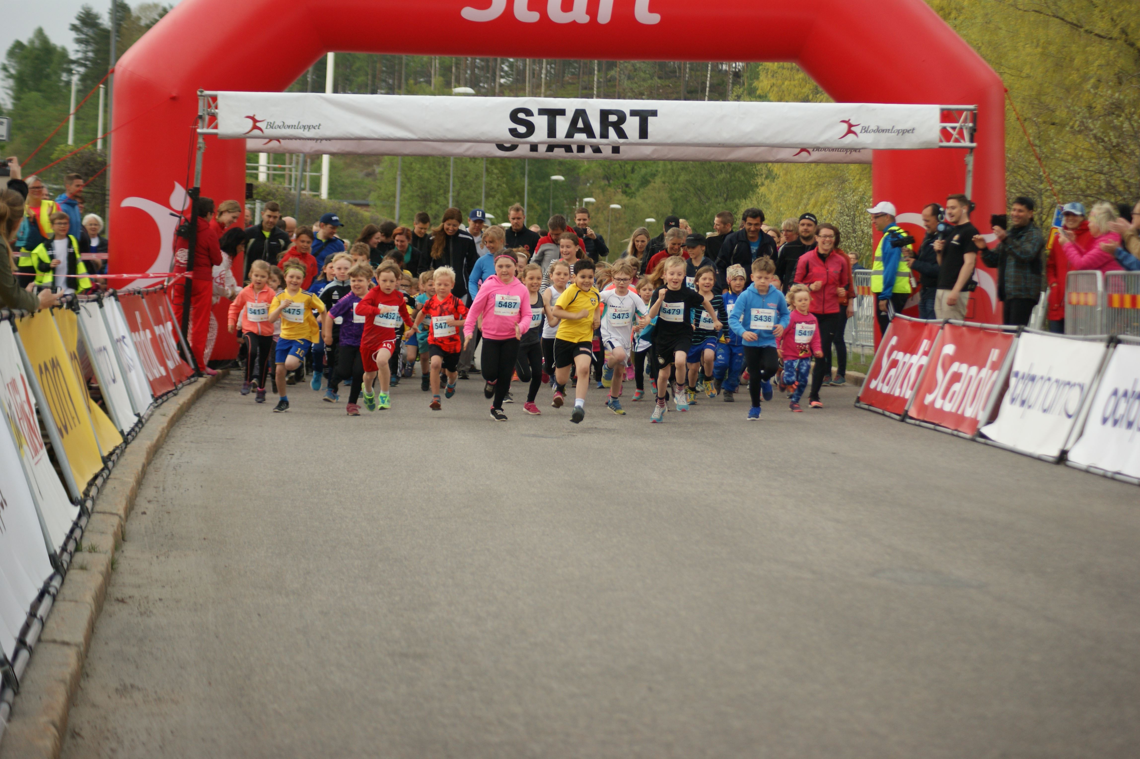Blodomloppet i Glada Hudik 21 maj 2018 (copy)