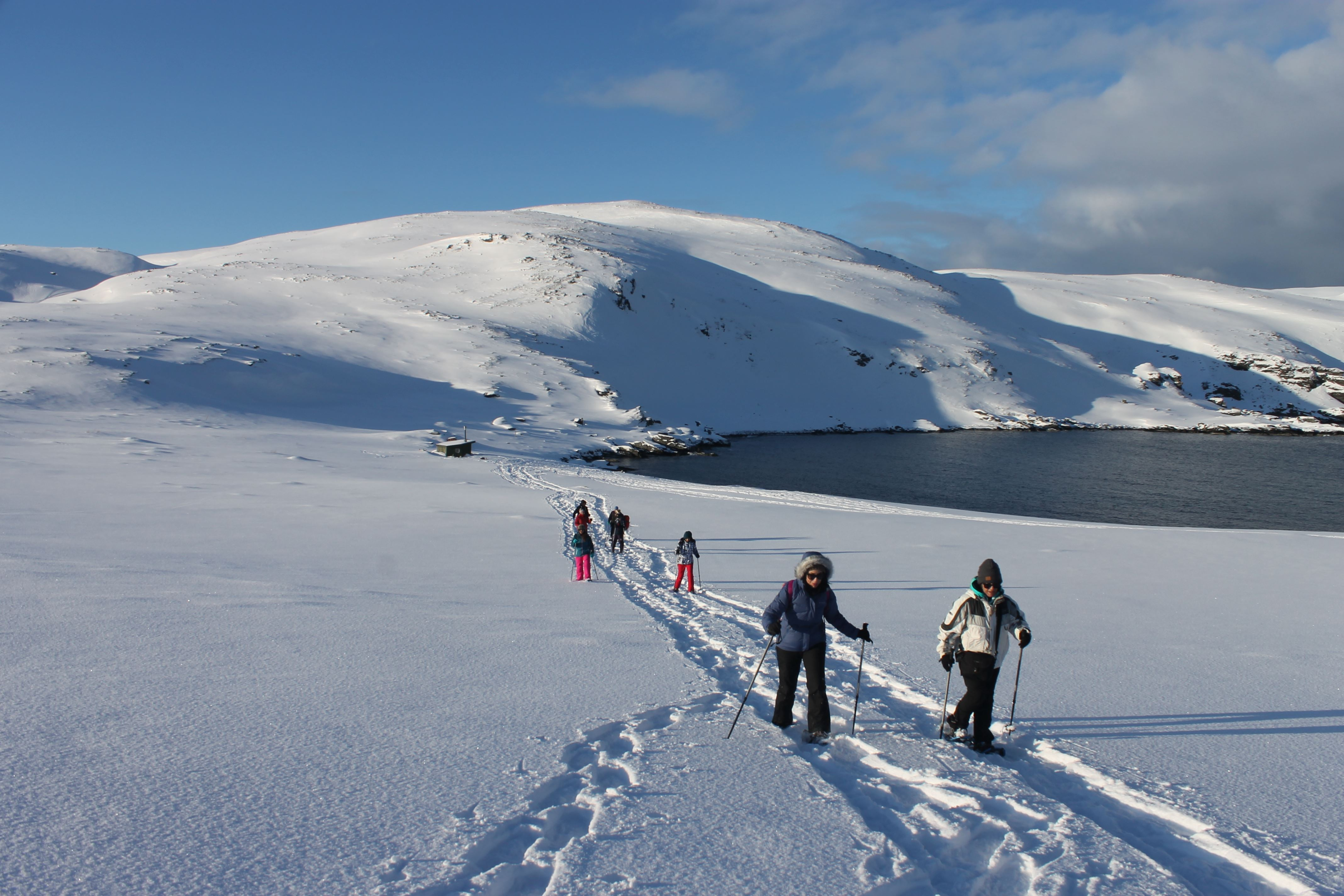 Snowshoe Safari to Kirkeporten