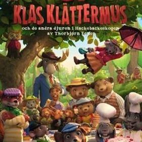 Barnbio med pannkaka - Klas Klättermus och de andra djuren i Hasselbackeskogen (76 min)