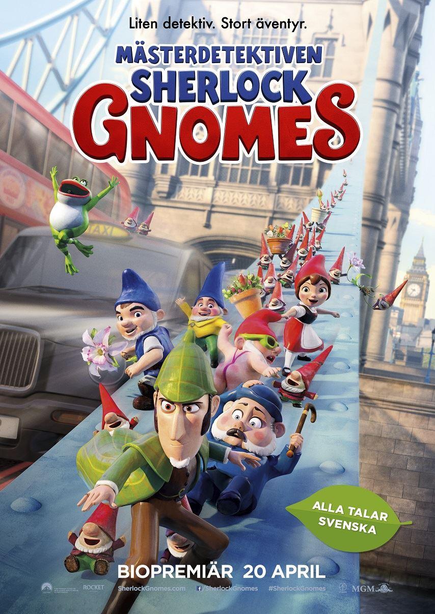 Mästerdetektiven Sherlock Gnomes