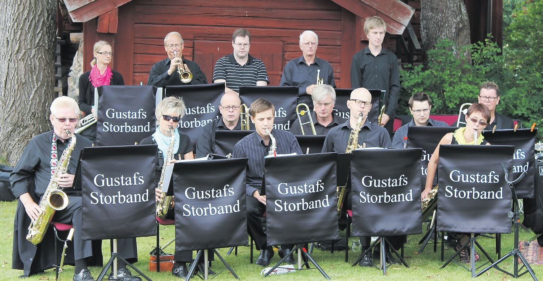 Jazzafton med Gustafs Storband