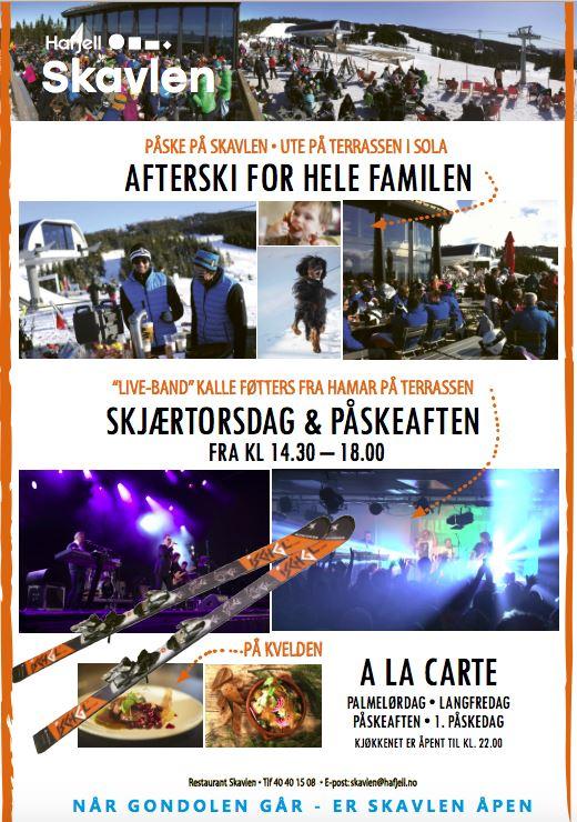 Skavlen presenterer: Live afterski med Kalle Føtters orkester