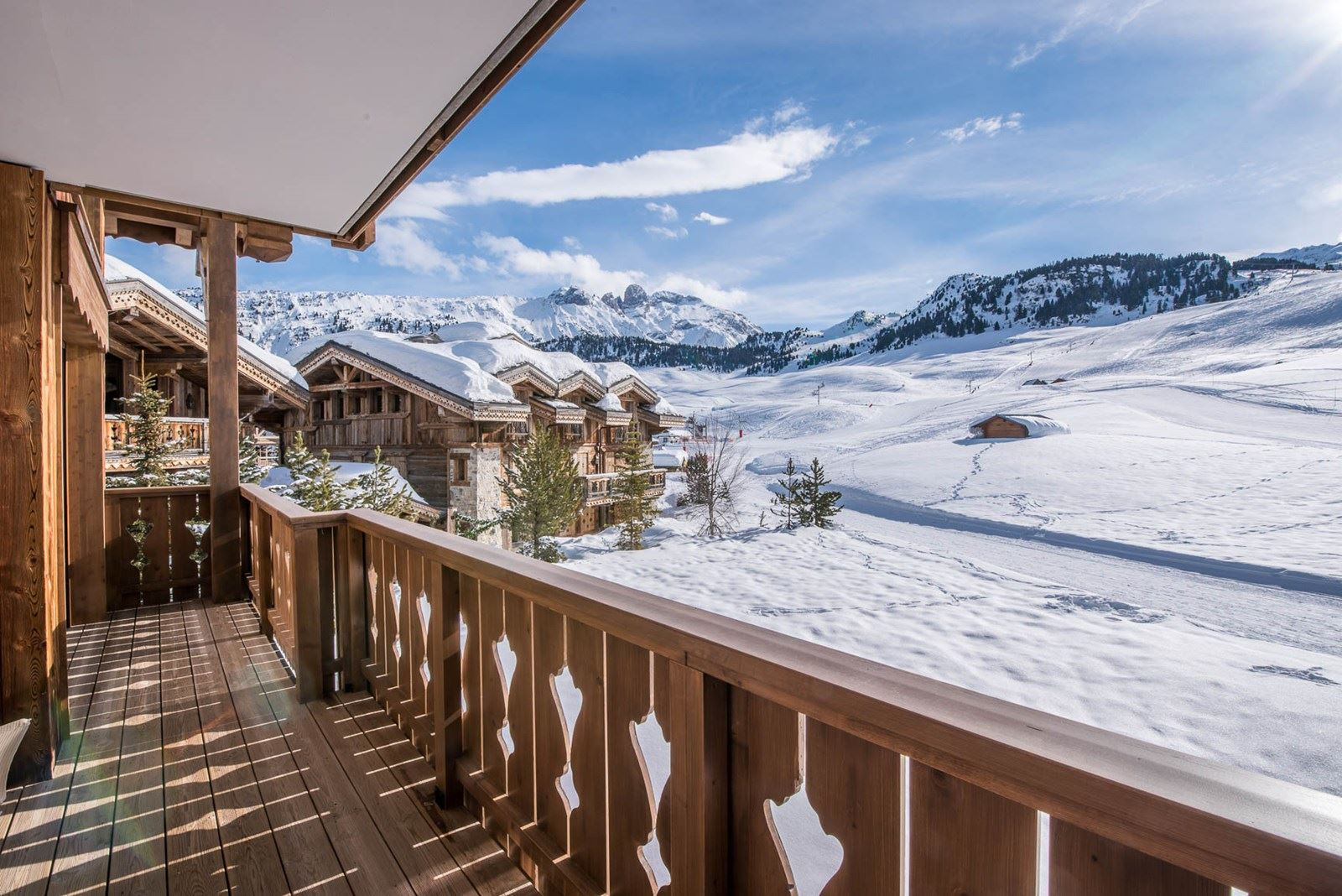 4 rooms 6 people ski-in ski-out / LES VOLETS BLEUS