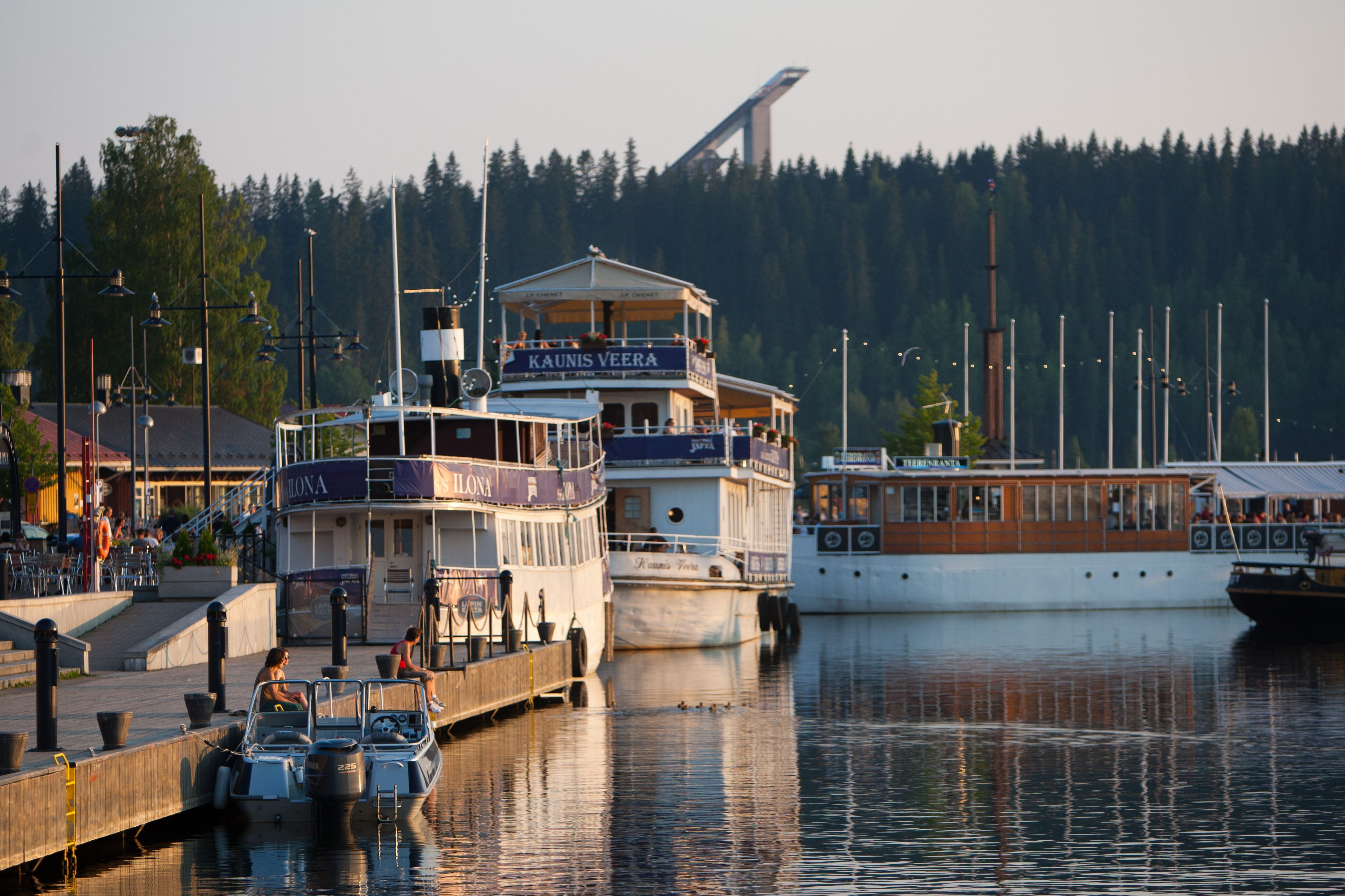 Vesijärvi Harbour | Restaurant ship S/S Ilona
