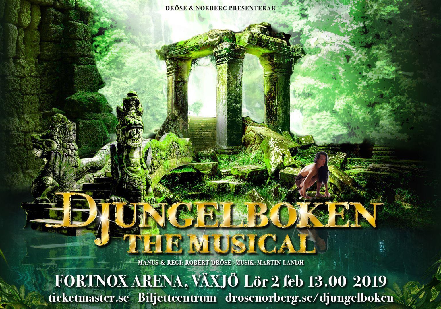 Musik: Djungelboken - the musical