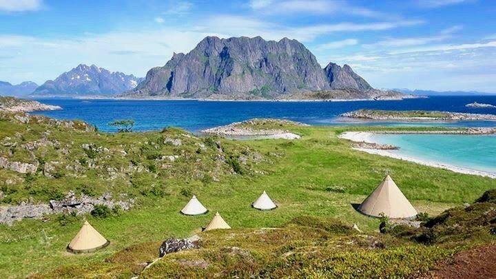 3 Days of Beach Glamping & Activities (fjord & wildlife cruise, kayaking, hiking, island cruise & goat farm visit)