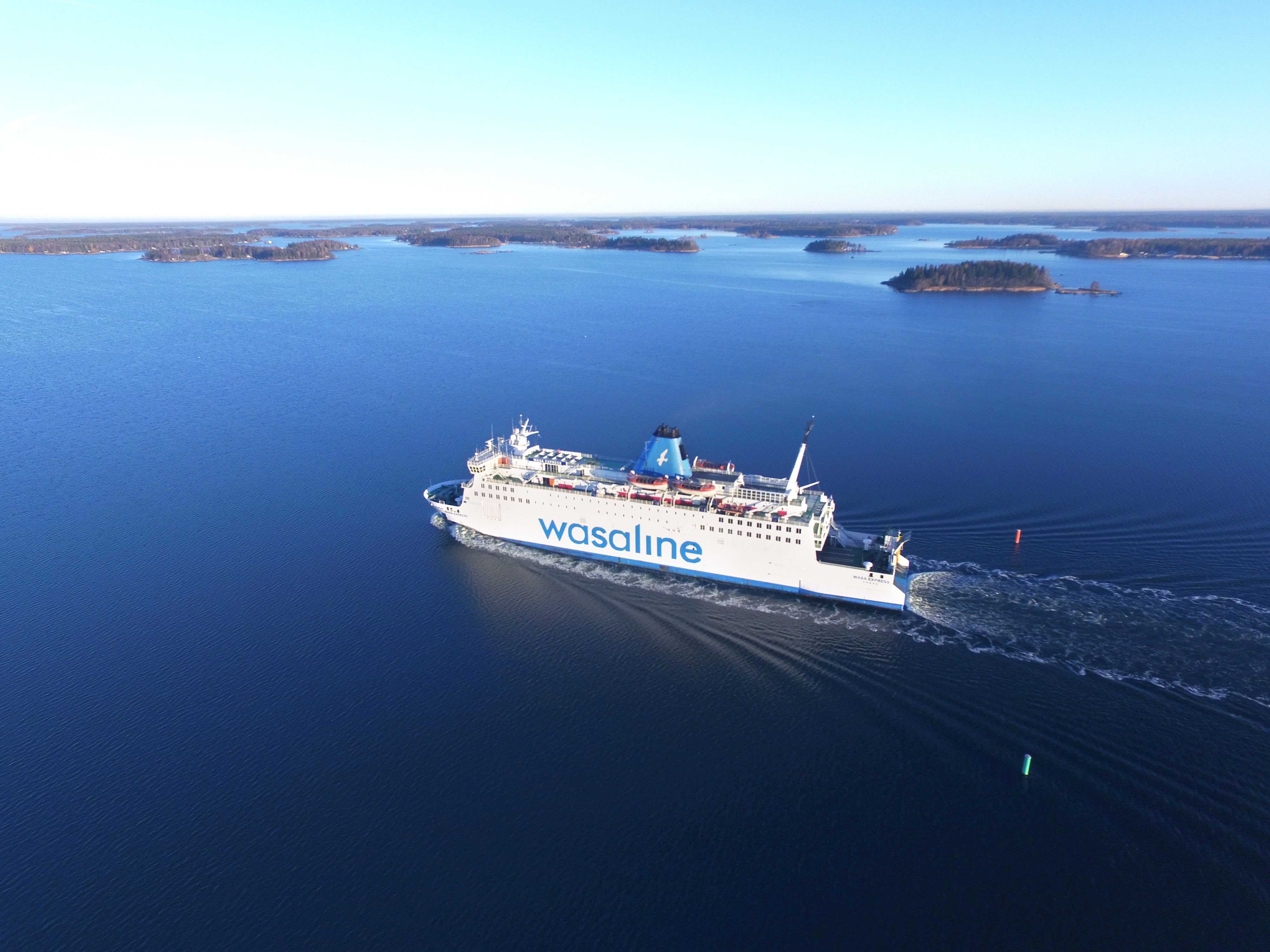 Ferry Umeå - Vasa in Finland