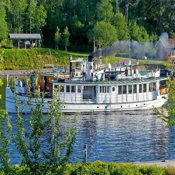 River ride with S/S Engelbrekt