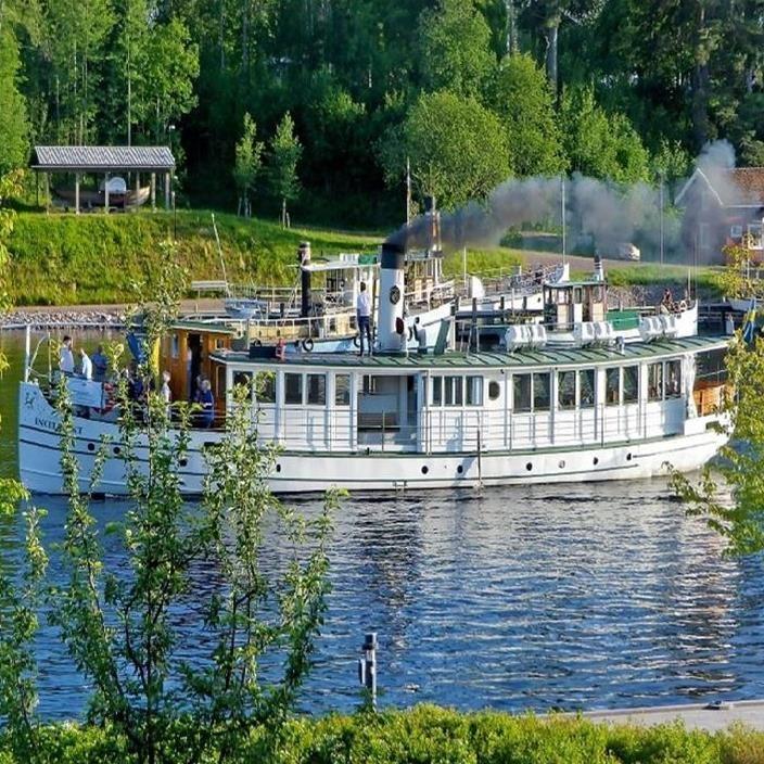 River ride to Rälta and Djurheden Railway