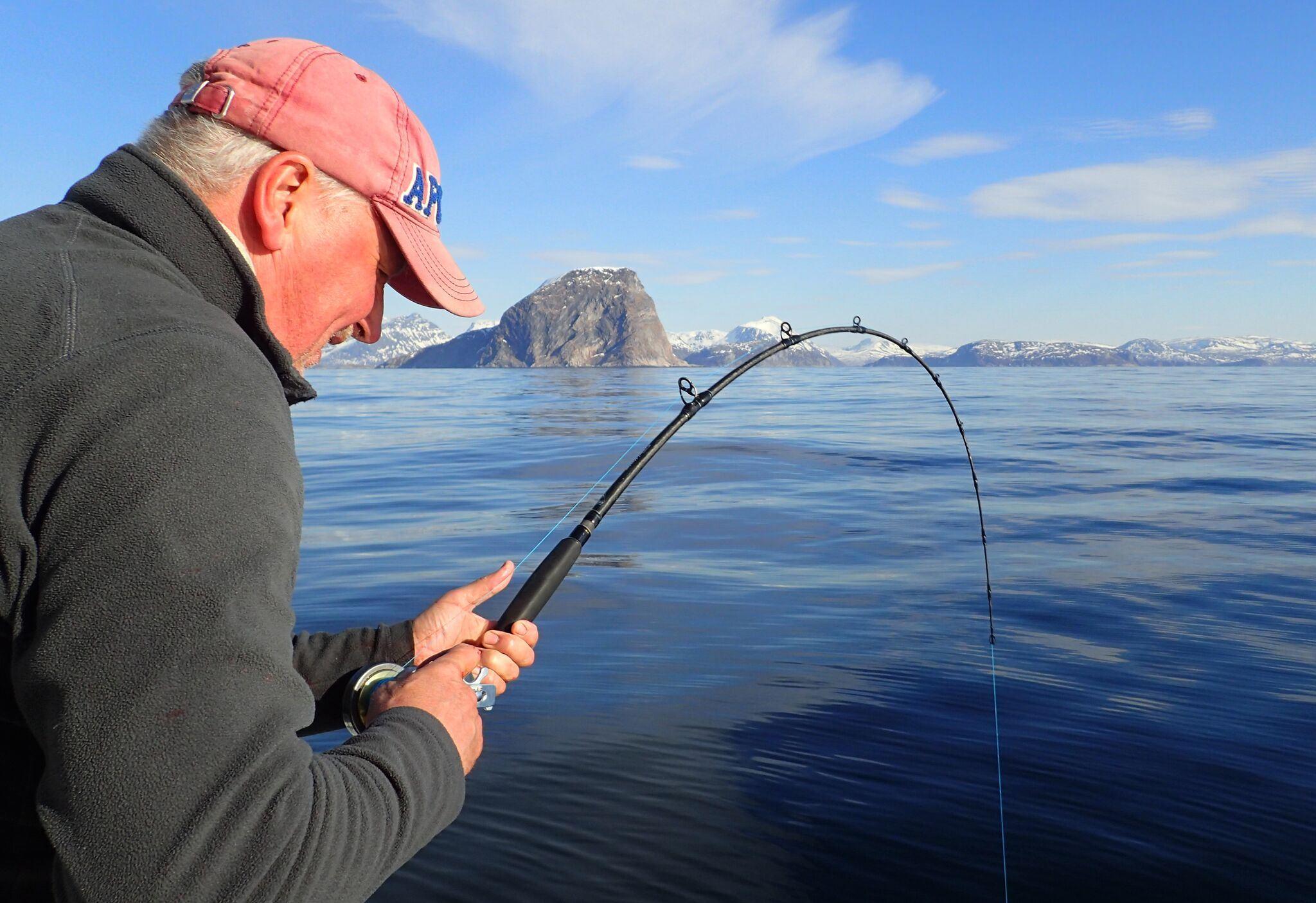 Guidet fisketur med charterbåt