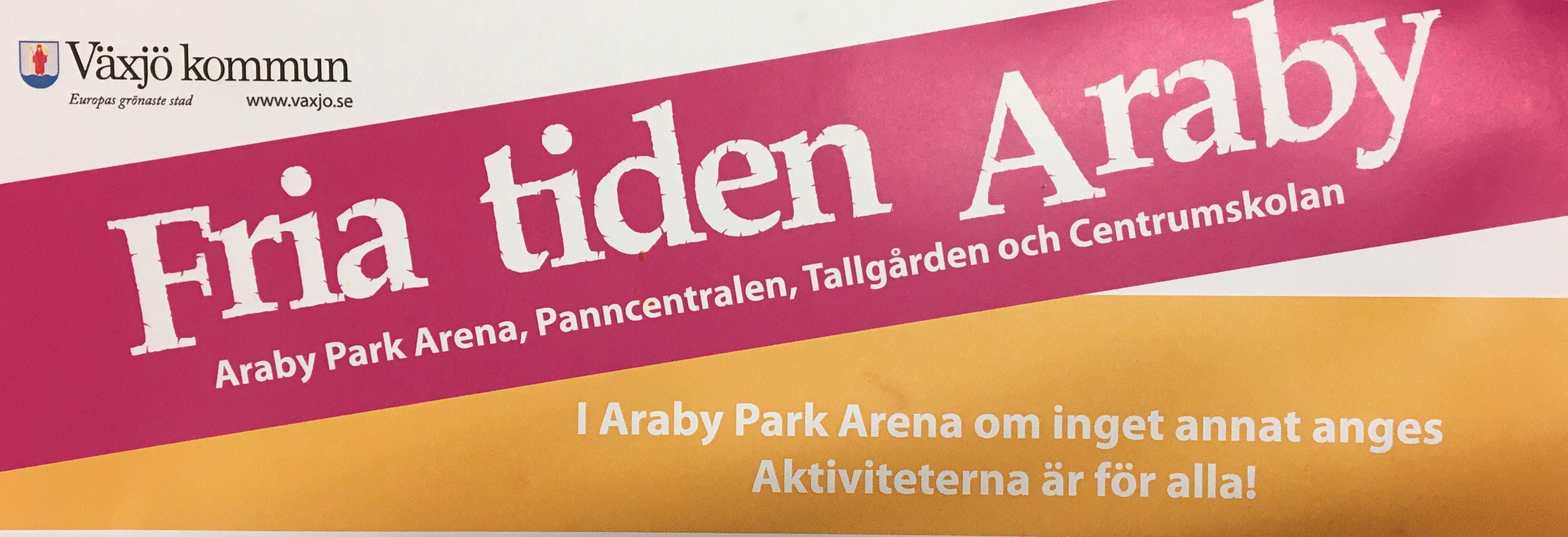 Fria Tiden Araby: Tisdag